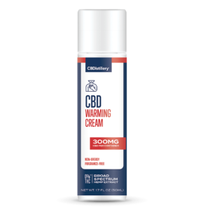300mg Broad Spectrum CBD Warming Cream 0% THC*