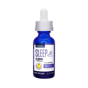CBN + CBD Sleep Tincture 1:3 – 150mg CBN + 450mg CBD- 30ml