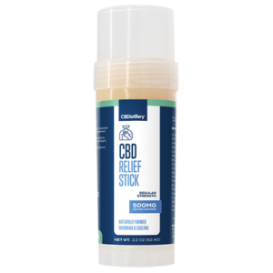 500mg Broad Spectrum CBD Relief Stick – 0% THC*