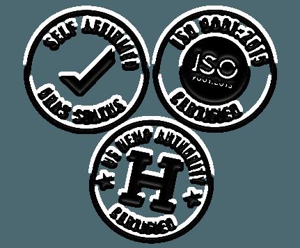 certification logos mobile