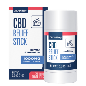 1000mg Isolate CBD Relief Stick – 0% THC