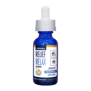Full Spectrum CBD Oil Tincture – 500mg – 30ml