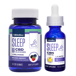 Sleep Starter Pack – Sleep Gummies & 1:3 CBN:CBD Sleep Tincture (150mg CBN + 450mg CBD)