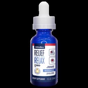 THC-Free Pure CBD Oil Tincture – 500mg – 30ml
