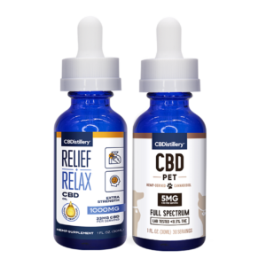 Man's Best Friend CBD Oil Pack – 1000mg Tincture – 150mg Pet Tincture
