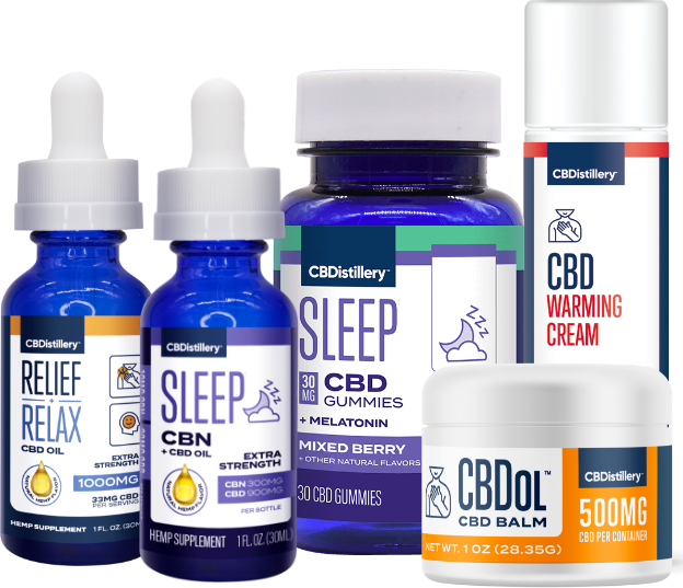 CBDistillery™ CBD group shot